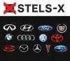 Производство и изготовление 2D (полиуретановые) и 3D (АБС пластик) наклеек для автомобилей и друугой техники (STELS-X)
