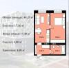 Квартира в новострое ЖК Urban City 44.2 м2.