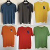 Мужская футболка GAS оригинал, 100% хлопок с коротким рукавом и круглым вырезом
